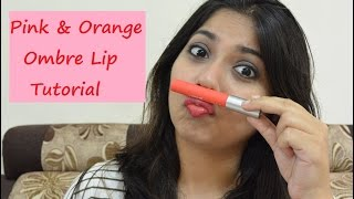 Image for video on Makeup Tutorial: Matte Orange & Pink Ombre Lip | Bhumika Thakkar by Bhumika Thakkar