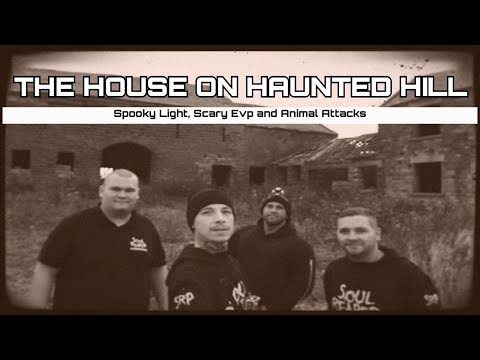 The House On Haunted Hill: Scary Voices, Lights & Animal Attacks