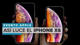 Así lucen los nuevos iPhone XS y iPhone XS Max