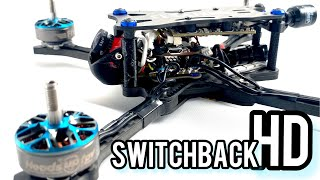533 Switchback HD - drone racing frame for sharkbyte and DJI, featuring HeadsUp Evan Turner
