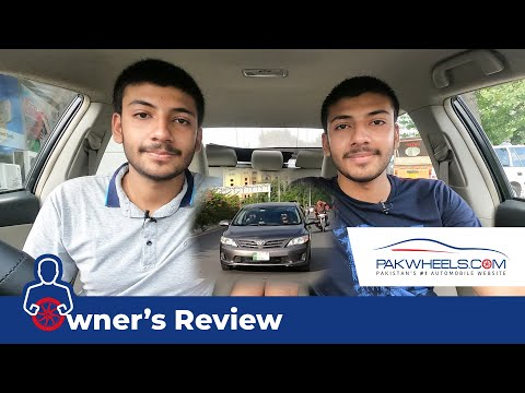 Toyota Corolla GLi 1.6 Automatic 2013 | Owner's Review | PakWheels