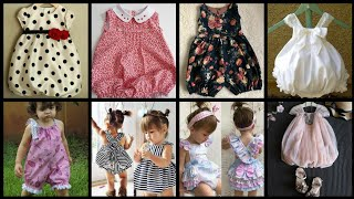 Top Stunning Designs For Baby Romper Dresses