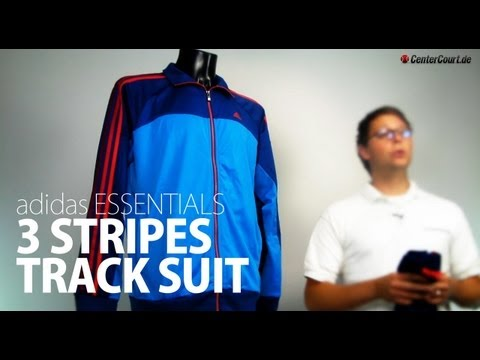 adidas Essentials 3 Stripes Polyester Track Suit