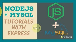 Connect Nodejs App to MySQL Server | Nodejs With MySQL And Express Tutorials