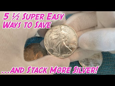 5 ½ Ways to Save Money to Buy Silver this Summer!