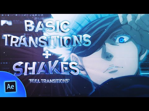 after effects  smooth basic transitions and shake by crepling