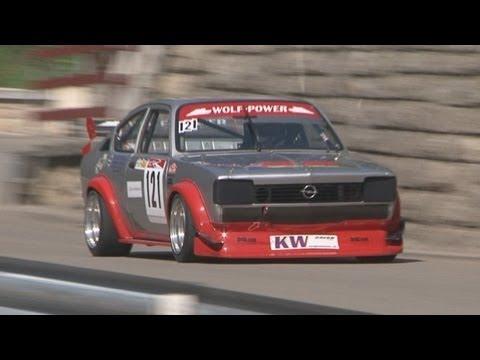 Opel Kadett C GT/E Racing at Swiss Hillclimb