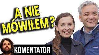 """Jak Mówiłem: SLD Wchłania Wiosnę a Spurek """"Olewa"""" Biedronia – Analiza Komentator Polityka PL"""