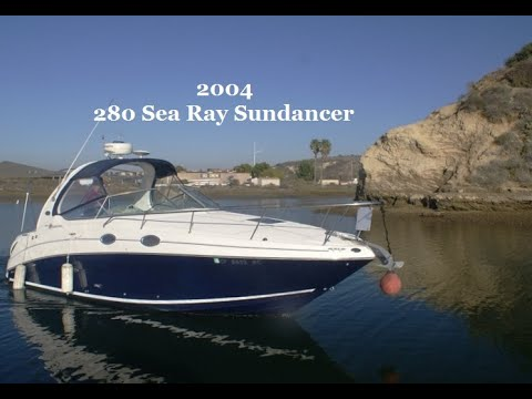 Sea Ray 280 Sundancer video