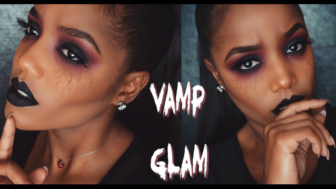 9 easy halloween makeup tutorials for adults purewow vampire demon glam makeup baditri Images