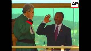 SOUTH AFRICA:  THABO MBEKI BECOMES PRESIDENT