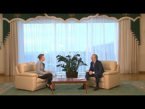 Эксклюзивное интервью с Андреем Назаровым по итогам официального визита в Австрию