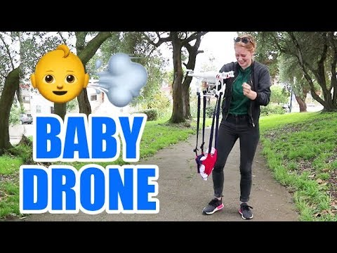 A drone that carries small children
