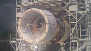 Airbus A380 Engine Explosion Test   HD