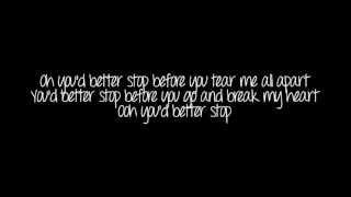 Sam Brown~stop Lyrics