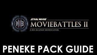 Star Wars: Movie Battles 2 - ''Installing'' the Peneke Pack + Gameplay