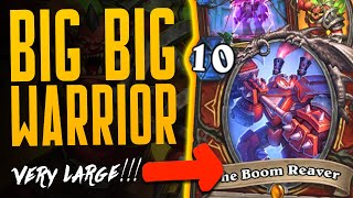 THE BIGGEST WARRIOR DECK OF ALL TIME!* - Ashes of Outland - Hearthstone