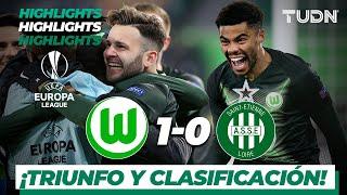 Highlights | Wolfsburg 1 - 0 Saint-Étienne | Europa League - J 6 - Grupo I | TUDN