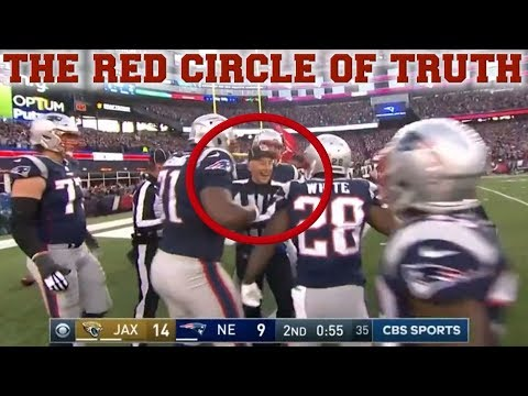 PROOF That Referees Helped the Patriots Beat the Jaguars