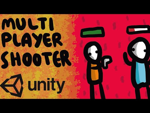 HOW TO MAKE AN ONLINE SHOOTER MULTIPLAYER GAME - UNITY EASY TUTORIAL