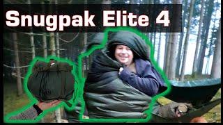 Snugpak Elite 4 Schlafsack - Die günstige Alternative zum Carinthia Defence 4?