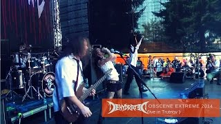 Dehydrated live Obscene Extreme 2014
