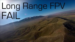 SkyHunter Long Range FPV Gone Wrong - RCTESTFLIGHT
