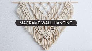 DIY Layered Macramé Wall Hanging