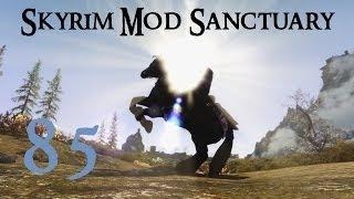 Skyrim Mod Sanctuary 85 : Dremora of Coldharbour, Animations and Snow