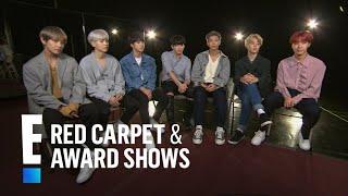 Boys of BTS Tease 2017 American Music Awards Performance | E! Red Carpet & Award Shows