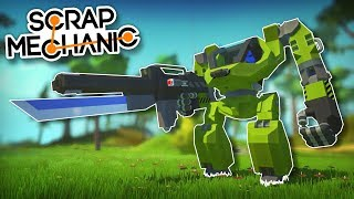 BATTLE ARMOR OF THE AGES! - Top of the Shop - Scrap Mechanic Best Builds
