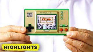 Nintendo reveals Game & Watch for Legend of Zelda!