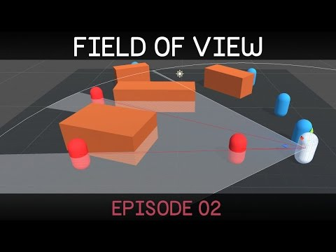 [Unity 5] Field of View tutorial (2/2)