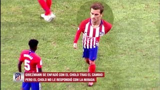 Antoine Griezmann angry with Diego Simeone