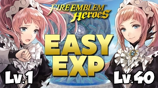 Fire Emblem Heroes - How To Get EASY Experience FAST & EFFICIENTLY!