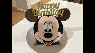 Mickey Mouse Cake Cake Hack Very Easy and Fast!