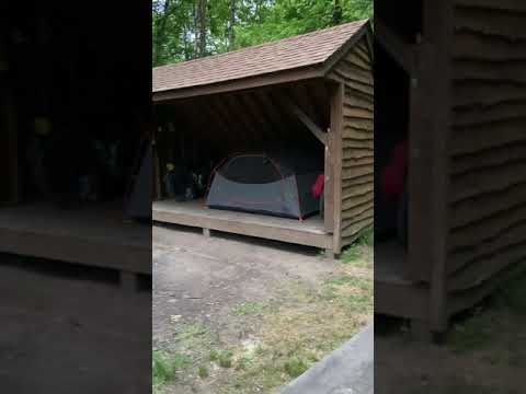 Video Of Round Bottom Camping Area at Slush Run, PA