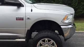 Lifted 2012 Dodge Ram 2500 Cummins 6.7 Turbo Diesel 6 Speed