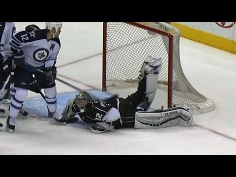 Jonathan Quick's Scorpion Kick Is The NHL's Save Of The Year