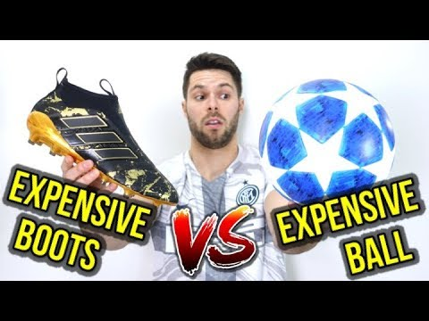 EXPENSIVE BALL VS EXPENSIVE FOOTBALL BOOTS – WHAT'S MORE IMPORTANT?