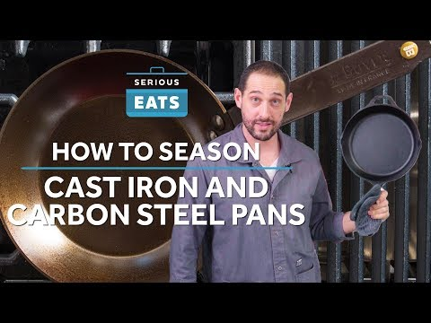 Seasoning a Cast Iron Skillet a Must - Here's How to Do It
