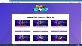 fortnite account for sale shopee - TH-Clip