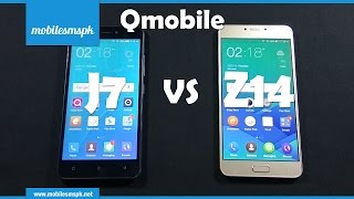 Comparison: Qmobile Noir J7 Vs  Qmobile Noir Z14 | Gionee P7 Max Vs Gionee S6 Pro