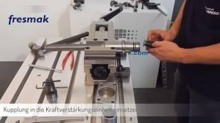 Auswechseln der Kupplungseinheit am Maschinenschraubstock Arnold MAT mechanisch