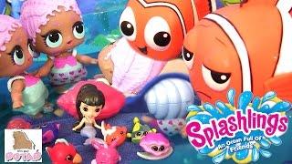 Splashlings Wave 2 Куклы Меняют Цвет Color Changing Mermaids #Русалки Сюрприз Игрушки Lol Baby ЛОЛ