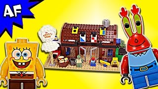 Lego SpongeBob KRUSTY KRAB 3825 Speed Build