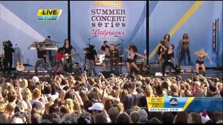 Miley Cyrus - Can't Be Tamed - Good Morning America 2010