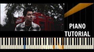 Mirai   ØTCHI   Piano Tutorial  Cover   Synthesia