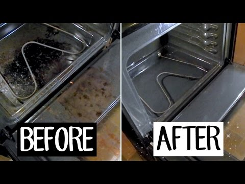 HOW TO CLEAN YOUR OVEN WITH BAKING SODA & VINEGAR || BETHANY FONTAINE