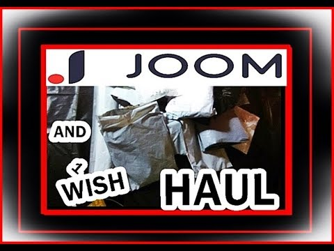 MY FIRST EVER JOOM HAUL + 1 WISH ITEM